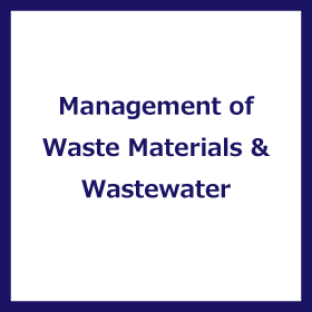 Research Field of Management of Waste Materials and Waste Water